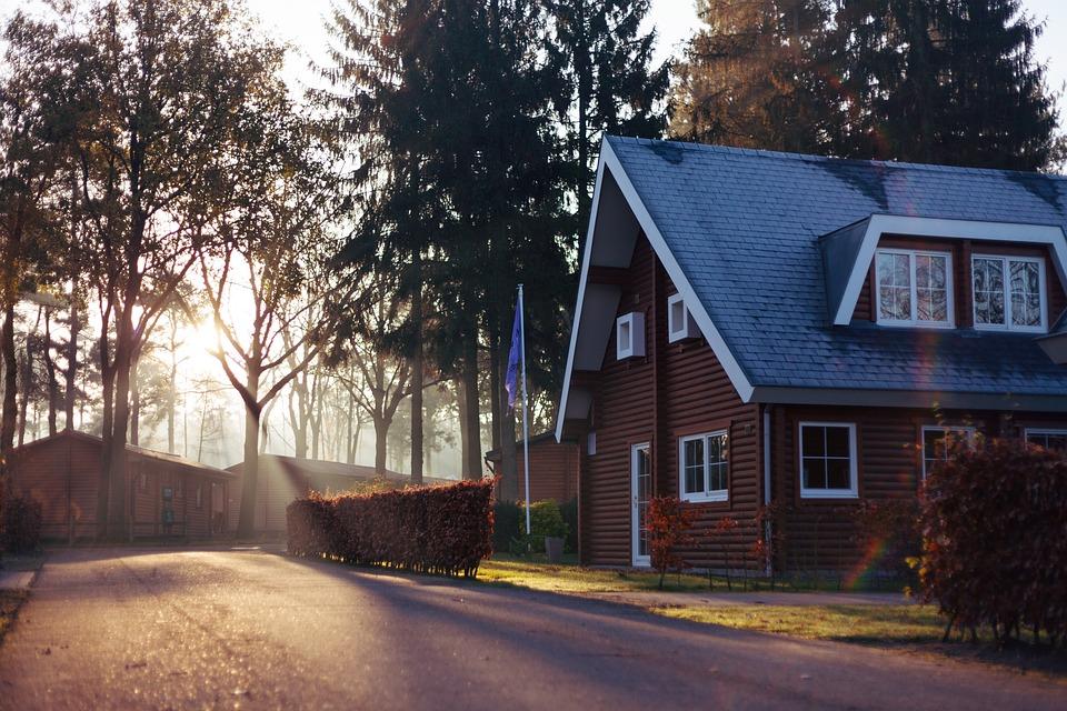 woning in het bos